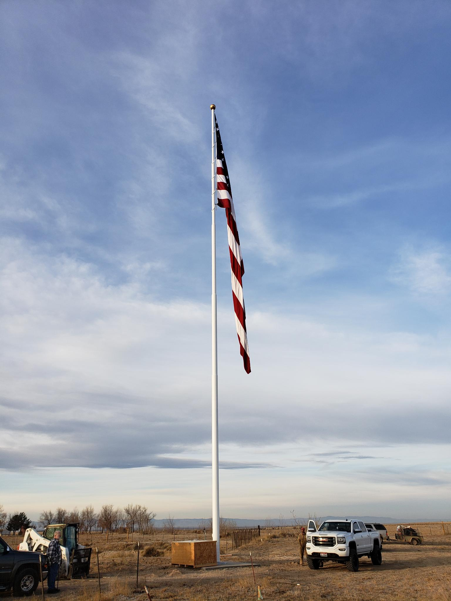 100'-150' Steel Flagpoles - Nationwide Sales & Installation